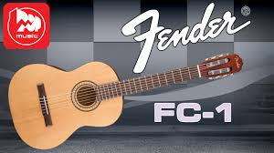 <b>Классическая гитара FENDER</b> FC-1 (New Fender budget Classical ...