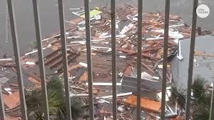 dramatic hurricane michael obliterates mexico beach fl