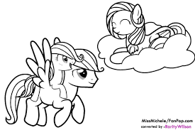 My Little Pony Friendship Is Magic Coloring Pages ...