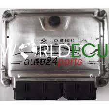 ECU ENGINE CONTROLLER SEAT LEON 1.9 TDI ASV 038906012FK, 038 906 012 ...
