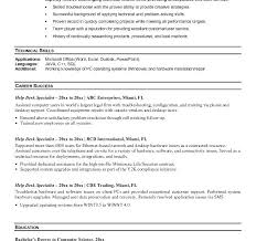 technical support specialist resume sample download help desk resume  application support specialist resume sample