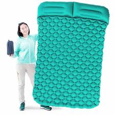 Air Moistureproof Camping Mats Sleeping <b>Pad Inflatable Cushion</b> ...