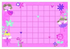 Fairy Princess Reward Charts And Stickers For Girls Kids