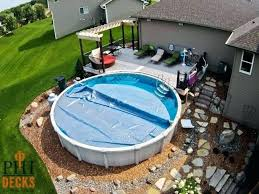 pictures of above ground pools with decks around it fr pool deck modern slide for