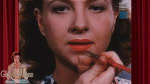 vine 1950s makeup tutorial film