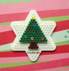 Perler Bead 3D Christmas Tree And 3D Reindeer Tutorial  YouTubePerler Beads Christmas Tree