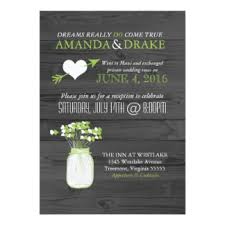 reception only invitations & announcements zazzle canada Wedding Reception Only Invitations wedding reception only mason jar rustic invitation wedding reception only invitations wording