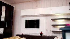 Wohnzimmer Wand Mit Holz Verkleiden