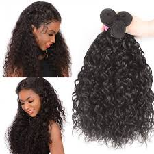 Hair Length Chart Bundles Unice Hair 3 Bundles Water Wave Virgin Human Hair Icenu Series