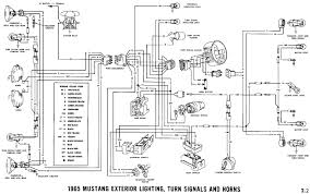 1965 mustang wiring diagrams average joe restoration turn signals and horns pictorial or schematic headlamps