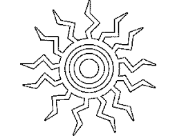 tribal coloring pages. Modren Tribal Tribal_Sun_Coloring_Pagepng Intended Tribal Coloring Pages E