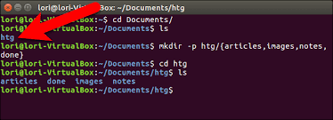 Create A Directory How To Create Multiple Subdirectories With One Linux Command