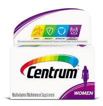 Vitamins A To Z Chart Centrum Women Multivitamin Centrum Micronutrients