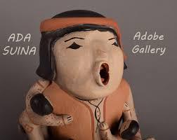 ADA SUINA Pueblo Pottery Figurine C4401-26 - Adobe Gallery, Santa Fe