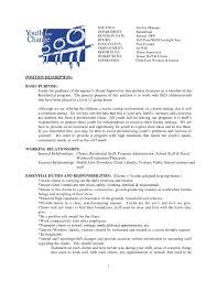Resume Format For Housekeeping Supervisor Resume For Your Job