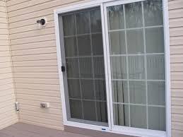sliding door screen track