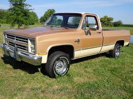1986 86 Chevrolet Chevy K10 1/2 ton 4x4 Four Wheel Drive Regular ...