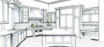 Fine Interior Design Kitchen Drawings Perfect Layout Tool Bathroom Software With Inside Models