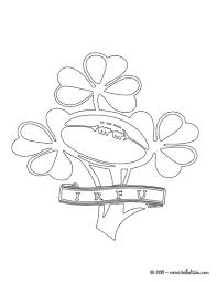 Ireland Rugby Team Irfu Coloring Pages