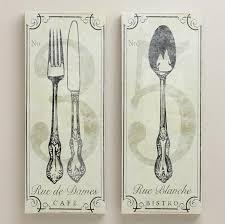 10 fun and creative kitchen wall decor ideas rilane cool french fork spoon art 772x768 stupendous