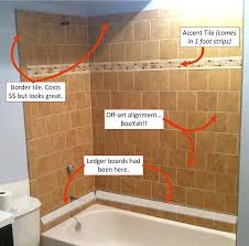 how to install shower wall tile basement bathroom tiled wall shower install bathroom shower tile
