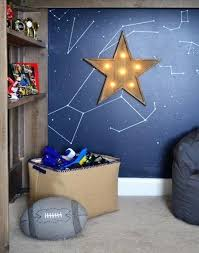 so obsessed with this light up star its battery operated no plug snaking down the wall