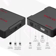 Amazon.com: Magicsee N5 NOVA TV Box 4GB 32GB Android 9.0 Rockchip RK3318  Quad-core 64bit Dual WiFi 2.4G/5G BT4.0 4K UHD Streaming Mini Box with 2.4g  Air Mouse Voice Remote: Electronics