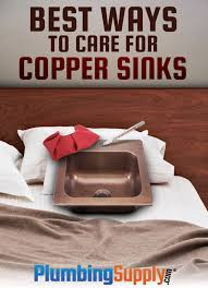learn the best ways to clean your copper sink and make sure it retains the natural