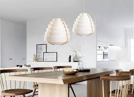 Pendelleuchte Hängeleuchte Lampe Holz Kunststoff Modern Wohnzimmer