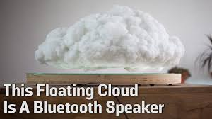 Floating Cloud Bed This Floating Cloud Is A Bluetooth Speaker Youtube