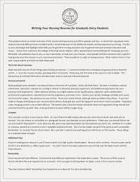 New Graduate Nursing Resume New 23 Resume Or Cv Example Lordvampyr
