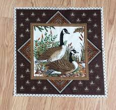 81 best fabric images on Pinterest | Fabric panels, Crochet and Quilts & Vintage VIP Cranston Print Works Fabric Canada Geese Panel Pillow Bags Quilt  | eBay Adamdwight.com