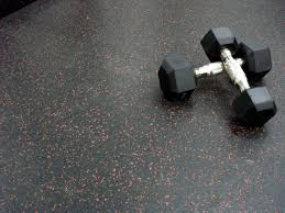 gym rubber tile