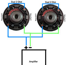 wiring subwoofers in parallel my wiring diagram