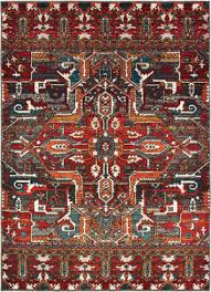 oriental weavers sedona 9575a red orange area rug