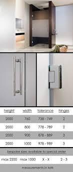 frosted shower door shower doors with