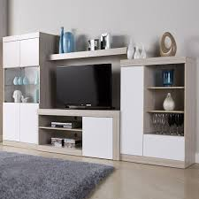 Modular Living Room Cabinets Pearl Modular Tv Cabinet And Media Storage Set Officesupermarket