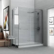 ove decors shelby 74 0 in h x 30 25 in w shower glass panel