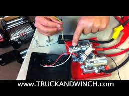 tuff stuff wireless remote wiring instructions mov youtube Champion Winch C30145 at Champion 3000 Lb Winch Wiring Diagram