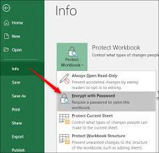 Encrypted Excel Files How To Protect Workbooks Worksheets And Cells From Editing