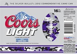 Coors Light Nutrition Facts 16 Oz Coors Light 2012 Camo Can Beer Street Journal