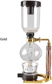 If you're looking for the best vacuum coffee maker then you've arrived at the right place. Amazon Com Japanese Style Siphon Coffee Maker Tea Siphon Pot Vacuum Coffee Maker Glass Type Coffee Machine Filter Kahve Makinesi 3 Cup Gold Kitchen Dining