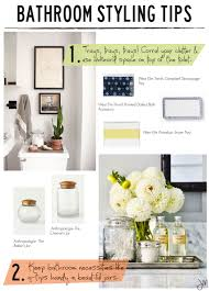 Design Sponge Bathrooms Julip Made Bathroom Styling Tips