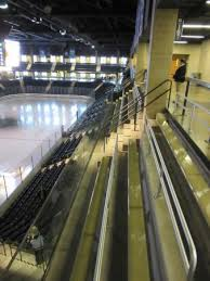 Compton Ice Arena Seating Chart Upper Tier General Admission Bench Seating Picture Of