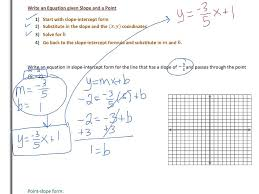 lesson 2 4 writing linear equations