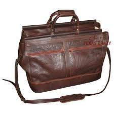 tooled leather carpet boot bag 9513