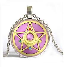 anime sailor moon star metal pendant