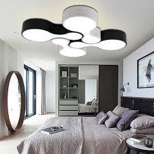 Creative DIY Modern Led Ceiling Lights For Living Room Bedroom Foyer