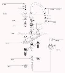 moen cau kitchen faucet parts diagram luxury moen cau kitchen faucet parts diagram awesome bathroom faucet