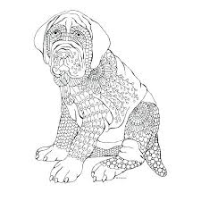 Boxer Dog Coloring Pages Birthday Dog Ring Pages Puppy Page Of Dogs
